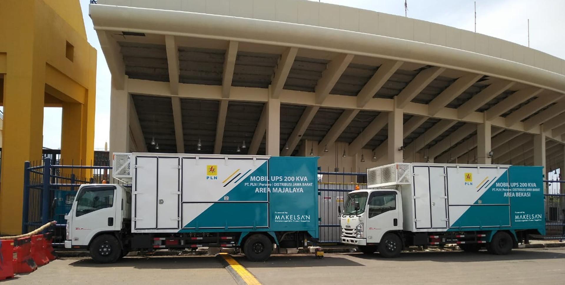 MAKELSAN MOBILE POWER CONTAINERS IS POWERING 18TH ASIAN GAMES IN INDONESIA!